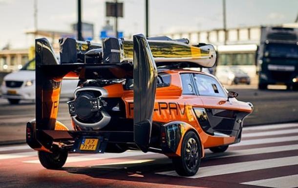 В Нидерландах появился летающий автомобиль