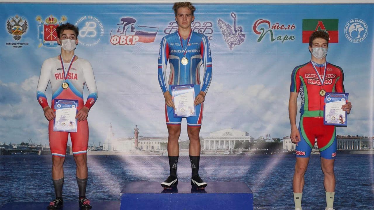 Велосипедист из Подмосковья завоевал бронзовую медаль на первенстве России