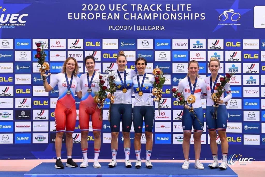 Велосипедистка из Подмосковья завоевала серебряную медаль чемпионата Европы