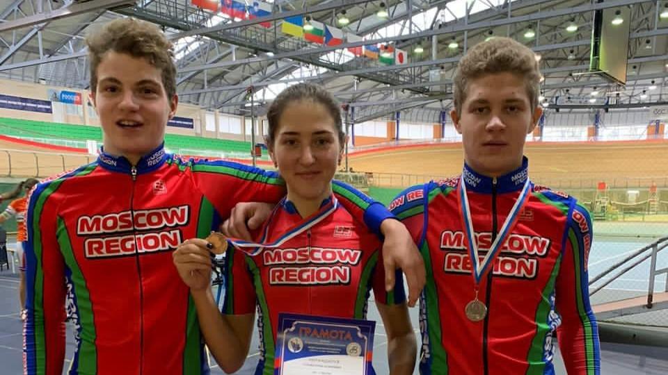 Велосипедисты из Подмосковья завоевали 2 медали первенства России