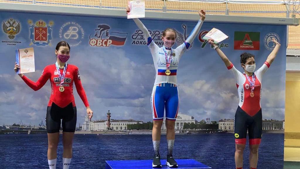 Велосипедисты из Подмосковья завоевали три медали на чемпионате России