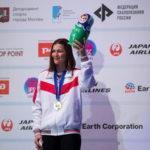 Виктория Мешкова выиграла второе «золото» на Чемпионате Европы по скалолазанию, Дмитрий Факирьянов – бронзовый призёр