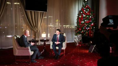 Андрей Воробьев подвел итоги года в эфире телеканала «360»
