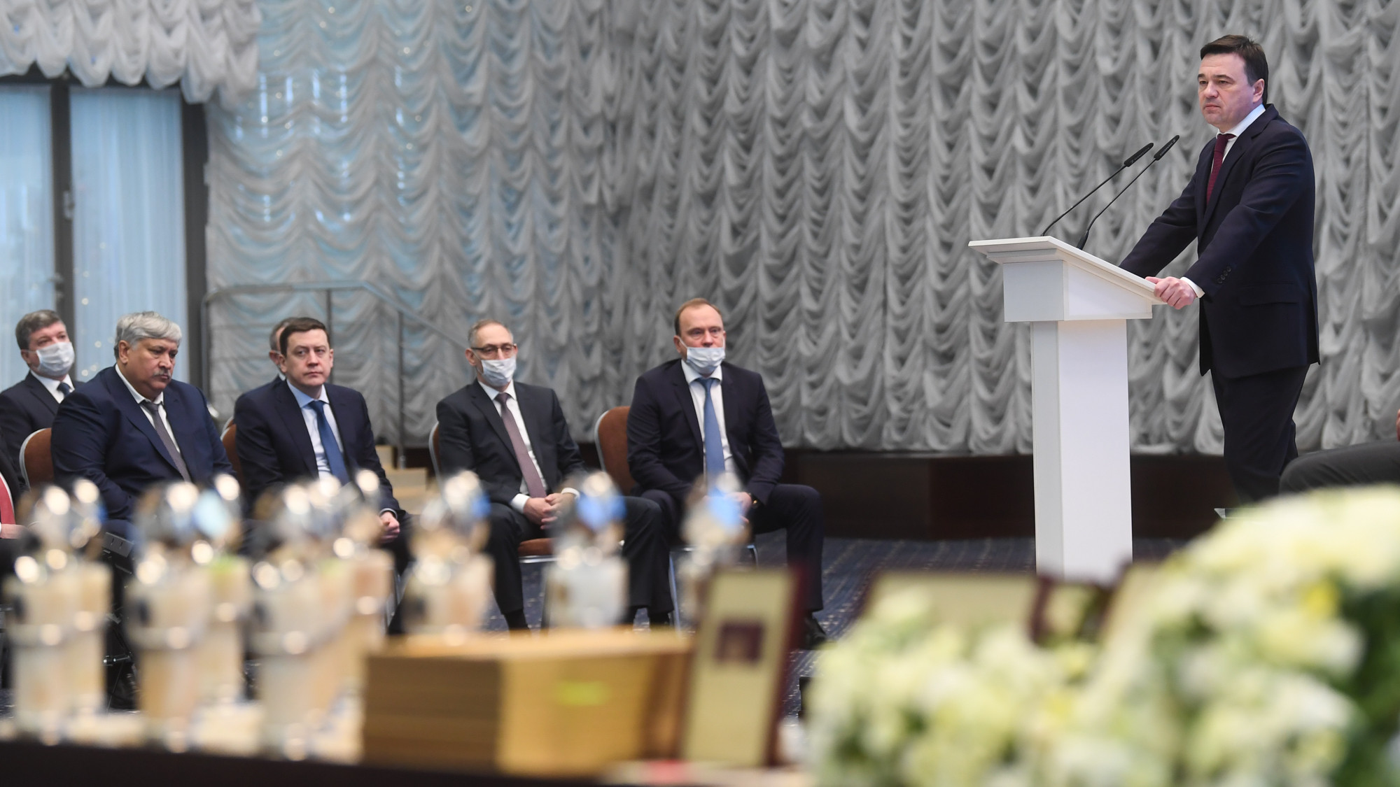 Андрей Воробьев провел заседание высшего совета региона