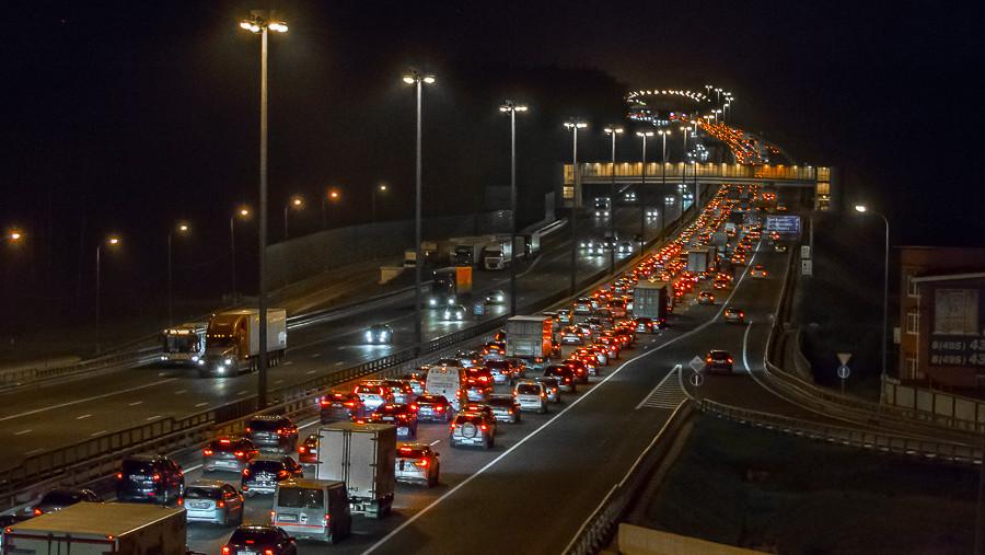 Число погибших снизилось вдвое на 10 основных региональных дорогах Подмосковья
