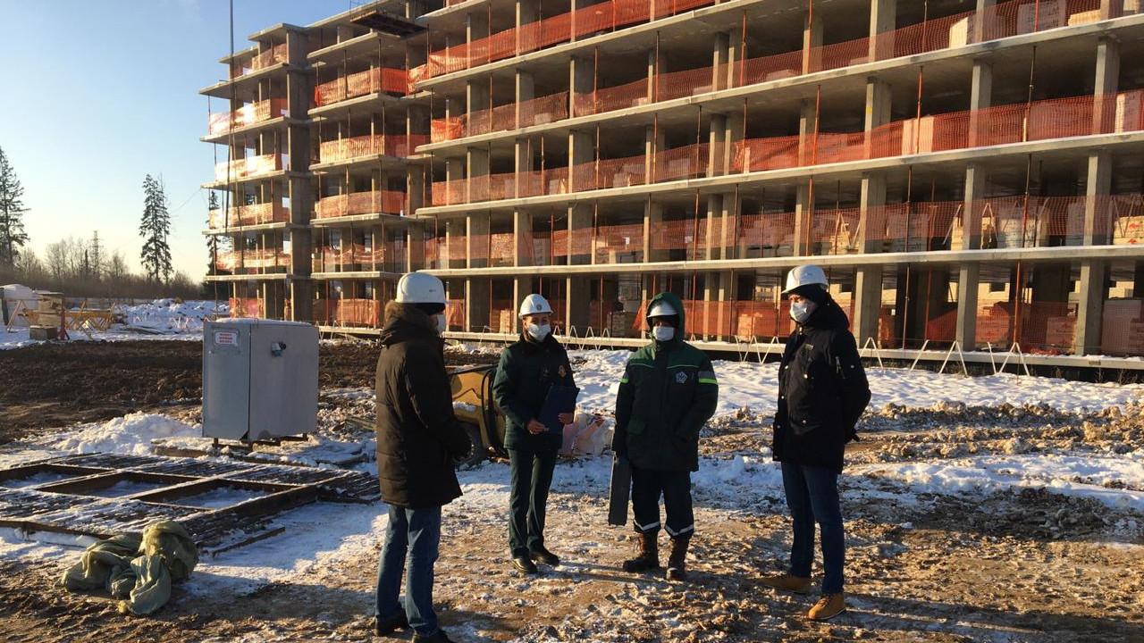 Два жилых дома в Рузском городском округе планируют достроить в марте 2021 года