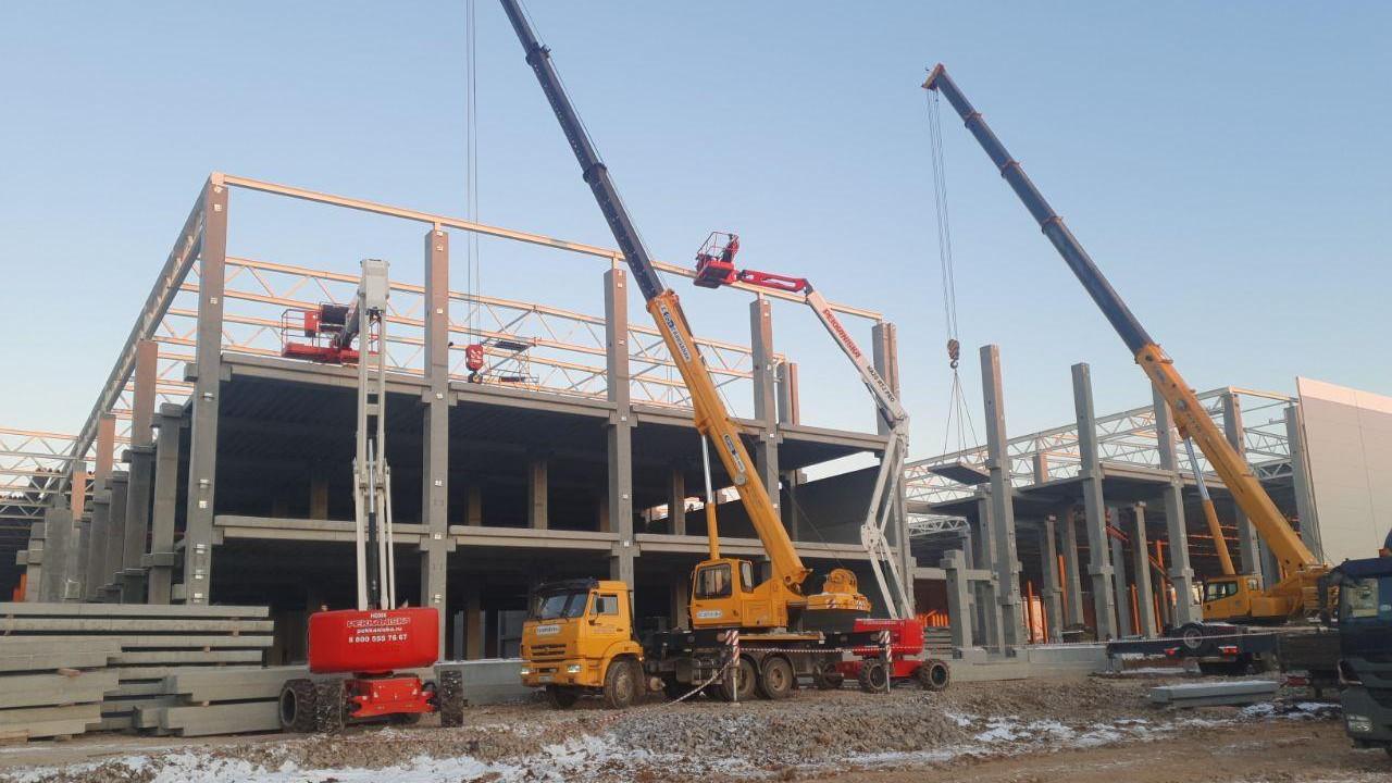 Еще одно здание логистического комплекса в Дмитровском округе построят в начале 2021 года