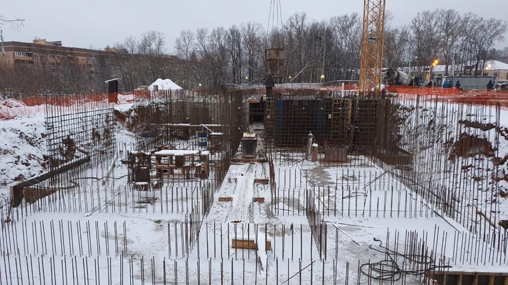 Главгосстройнадзор начал первую плановую проверку строящегося многоэтажного дома в Клину
