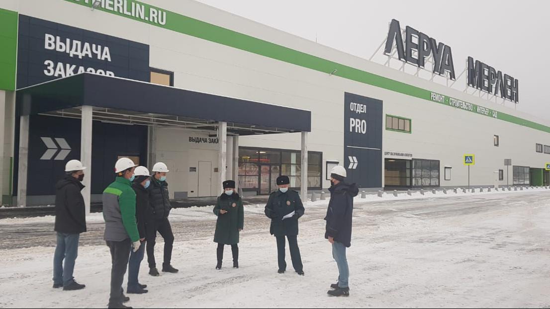 Главгосстройнадзор проверяет построенный ТЦ в Наро-Фоминском городском округе