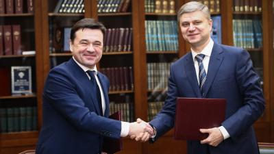 Губернатор и председатель правления ОАО «РЖД» подписали соглашение о сотрудничестве