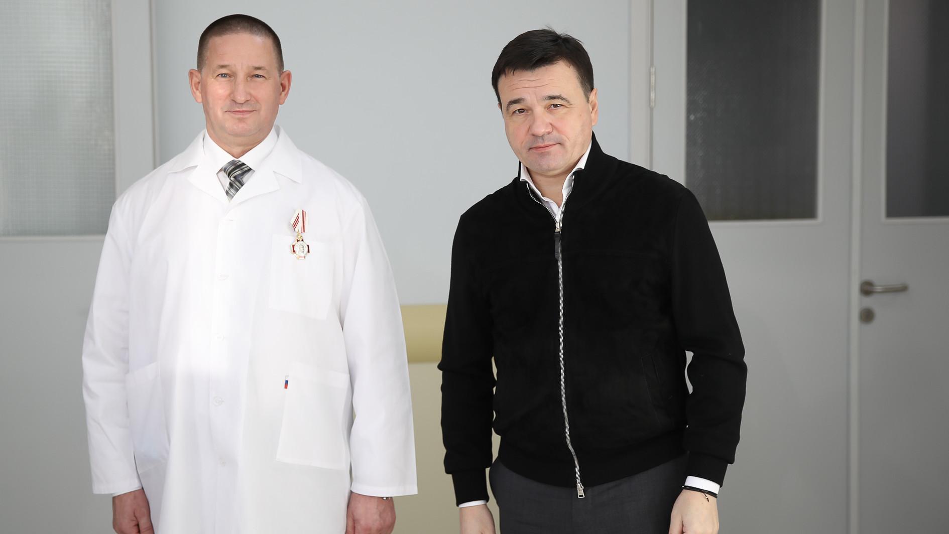 Губернатор посетил Подольск с рабочим визитом
