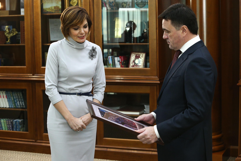 Губернатор провел рабочую встречу с уполномоченным по правам ребенка в Московской области