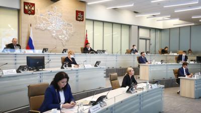 Губернатор провел совещание с членами правительства и главами муниципалитетов