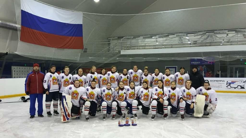 Хоккеистки из Подмосковья победили на втором этапе первенства России