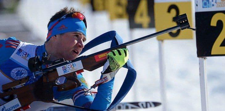 Кирилл Стрельцов завоевал серебряную медаль на Кубке России по биатлону