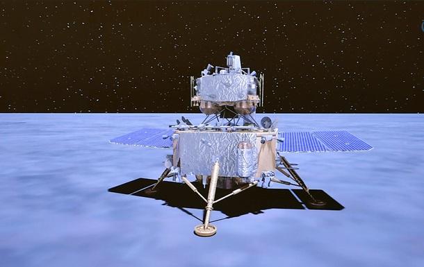 Китайский зонд собрал образцы грунта Луны