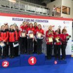 Кёрлингистки из Подмосковья стали победителями всероссийских соревнований
