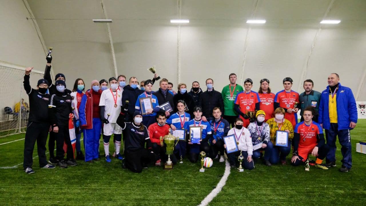 Команда из Дзержинского победила в чемпионате Подмосковья по мини-футболу 5 на 5