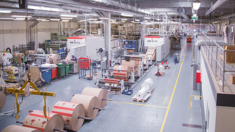 Компания запустит производство бумажной упаковки в Подмосковье