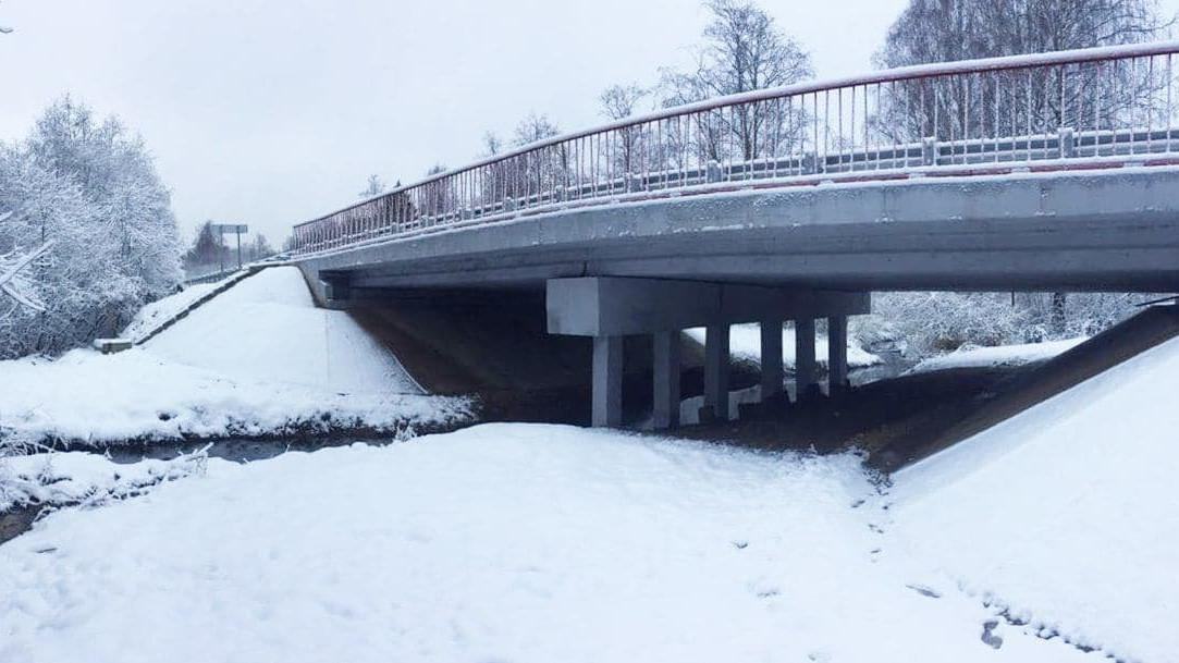 Мост через реку Мазиху отремонтировали в Солнечногорске