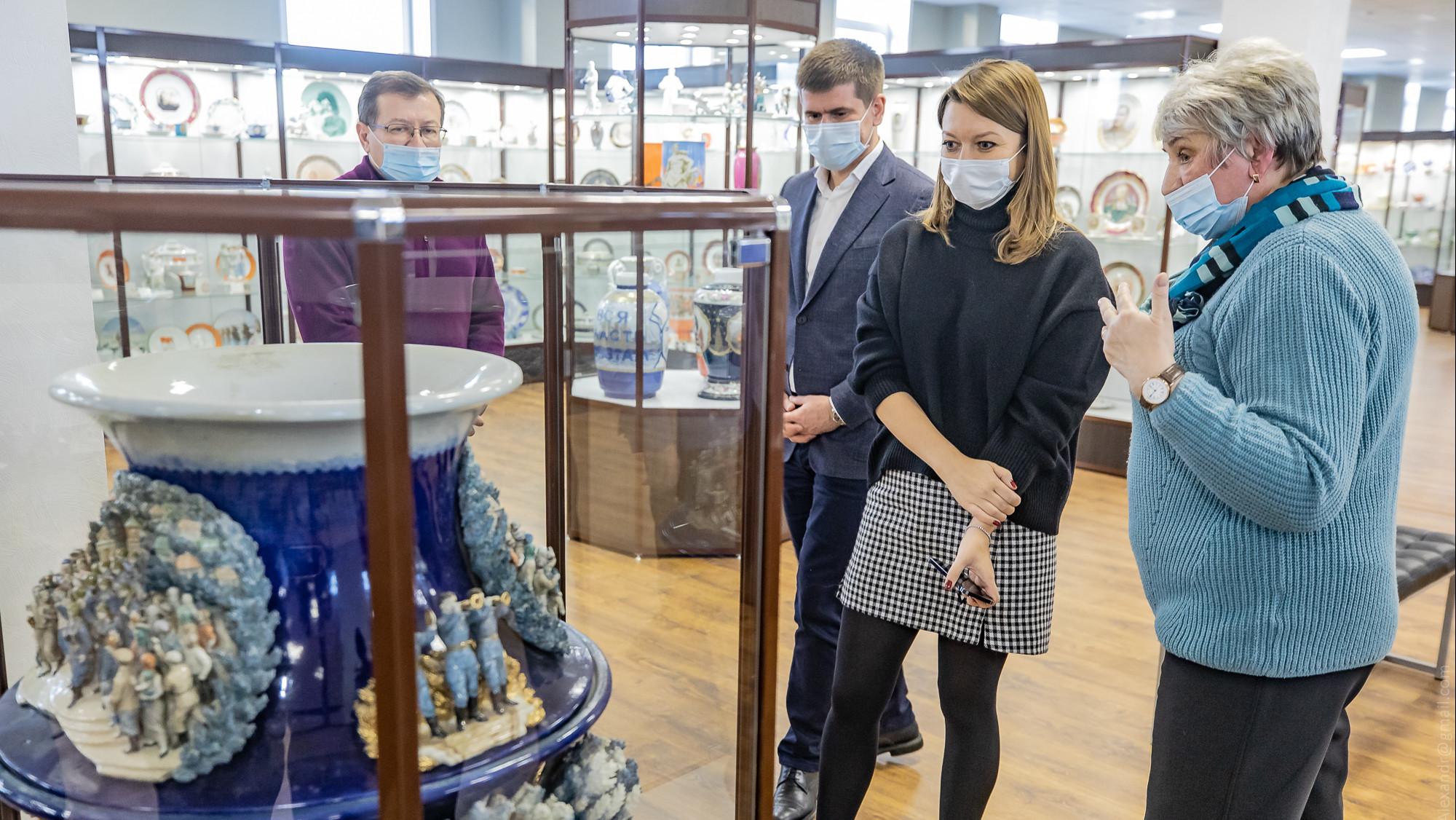 Наталья Виртуозова приняла участие в заседании совета по народным промыслам Подмосковья