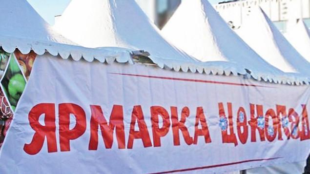 Новогодняя социальная ярмарка «Ценопад» открылась в Красногорске