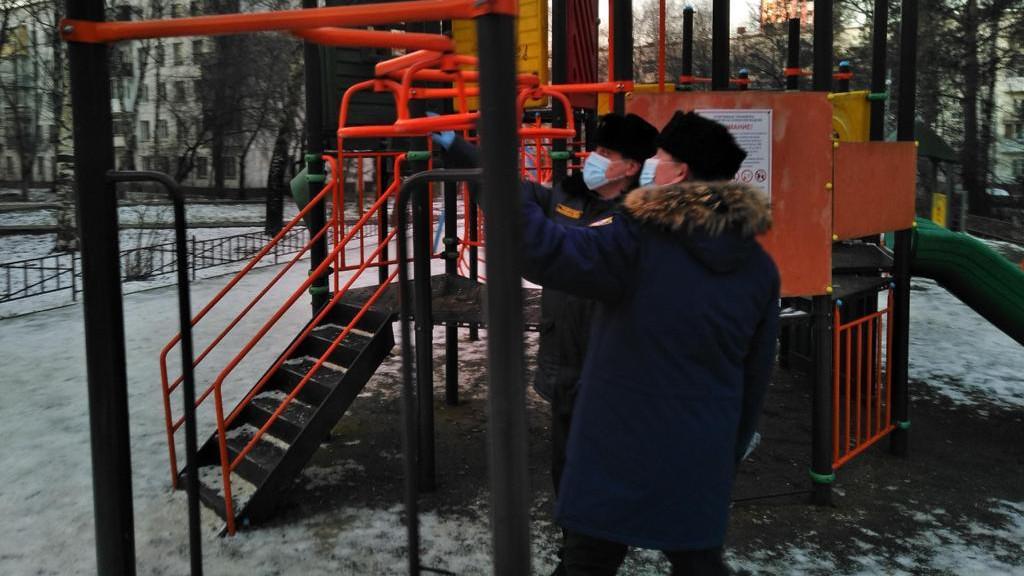 Олег Баженов проверил зимнее содержание объектов в Ленинском округе