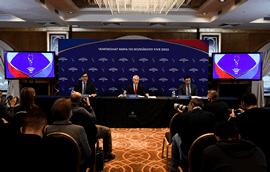 Олег Матыцин: «Чемпионат мира по волейболу 2022 года в России будет организован на самом высоком уровне и привлечёт внимание к этому виду спорта»