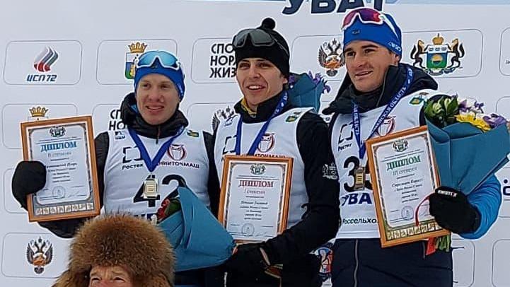 Подмосковные биатлонисты стали призерами всероссийских соревнований «Кубок Урала»
