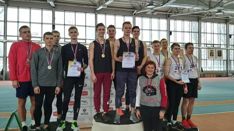 Подмосковные спортсмены завоевали 14 медалей на всероссийских соревнованиях по лёгкой атлетике