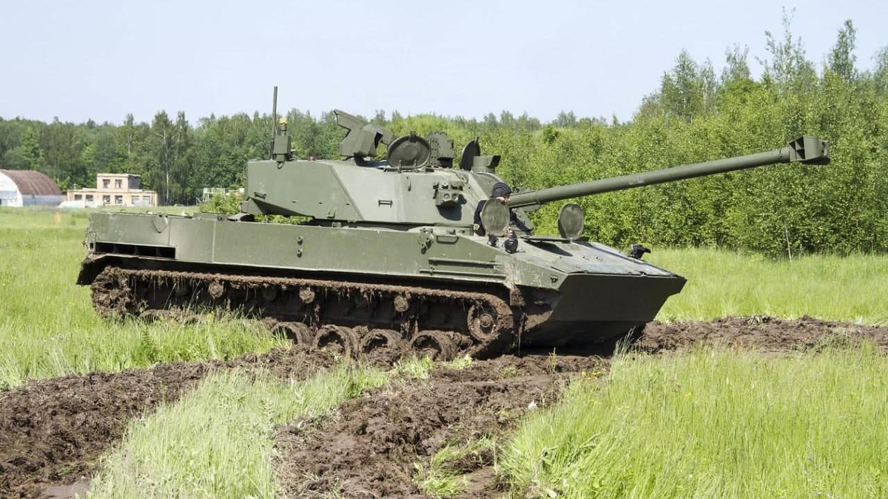 Авиадесантируемая самоходная артиллерийская установка «Лотос»