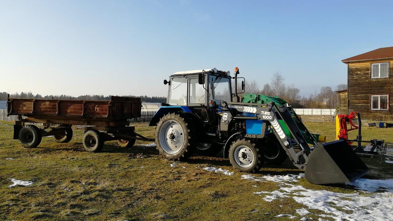 Подмосковный фермер потратил грант в размере 4,8 млн рублей на сельхозтехнику и оборудование