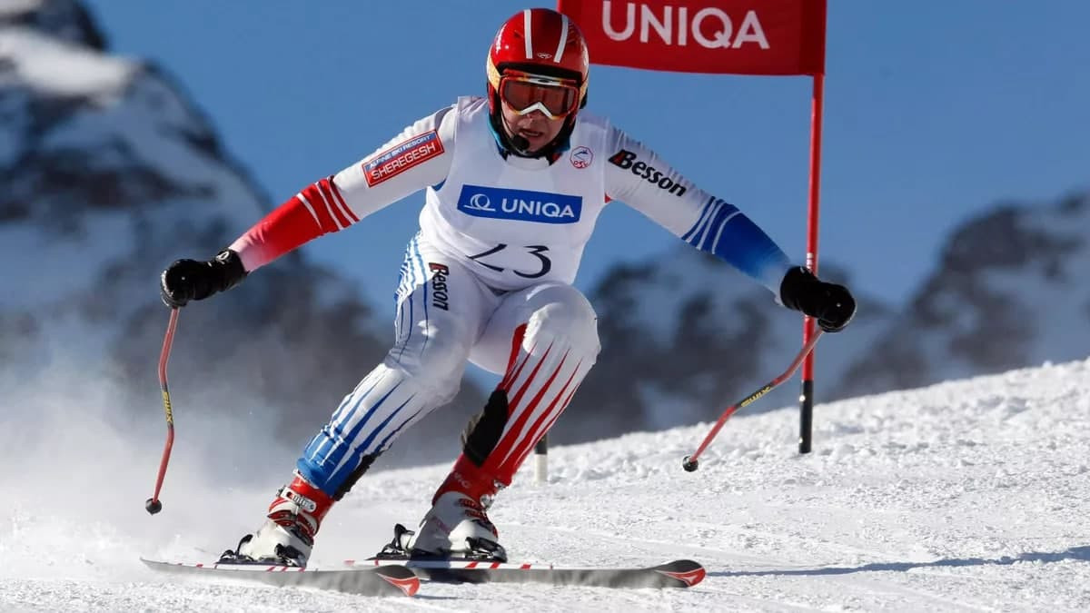 Подмосковный горнолыжник завоевал две серебряные медали на Кубке Европы
