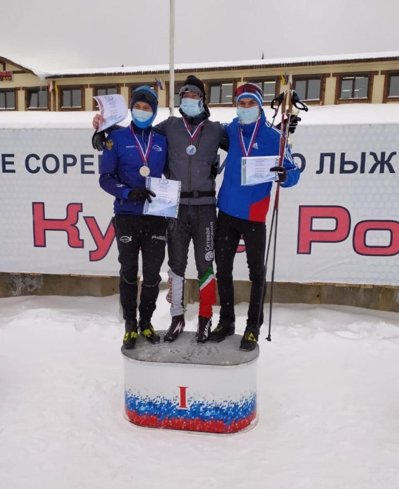 Подмосковный лыжник завоевал бронзовую награду на II этапе Кубка России