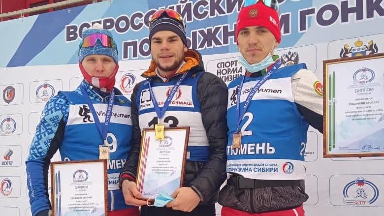 Спортсмен из Подмосковья Федор Назаров