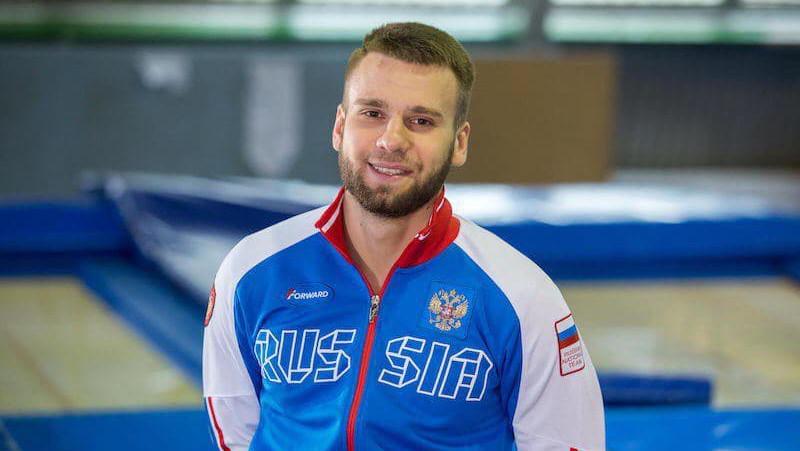 Подмосковный спортсменАндрей Юдин