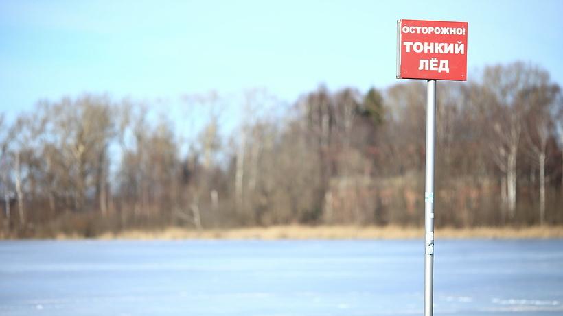 Подмосковным любителям зимней рыбалки напомнили о запрете выходить на тонкий лед