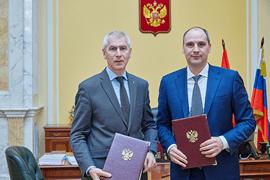Подписано Соглашение между Минспортом России и Оренбургской областью о сотрудничестве в сфере физической культуры и спорта