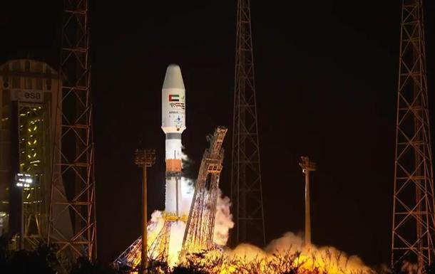 Ракета Союз вывела на орбиту спутник ОАЭ