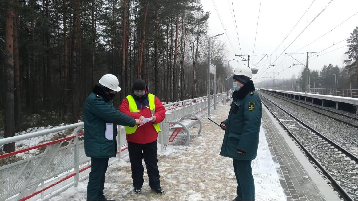 Реконструкция пассажирской ж/д платформы завершилась в Шатуре