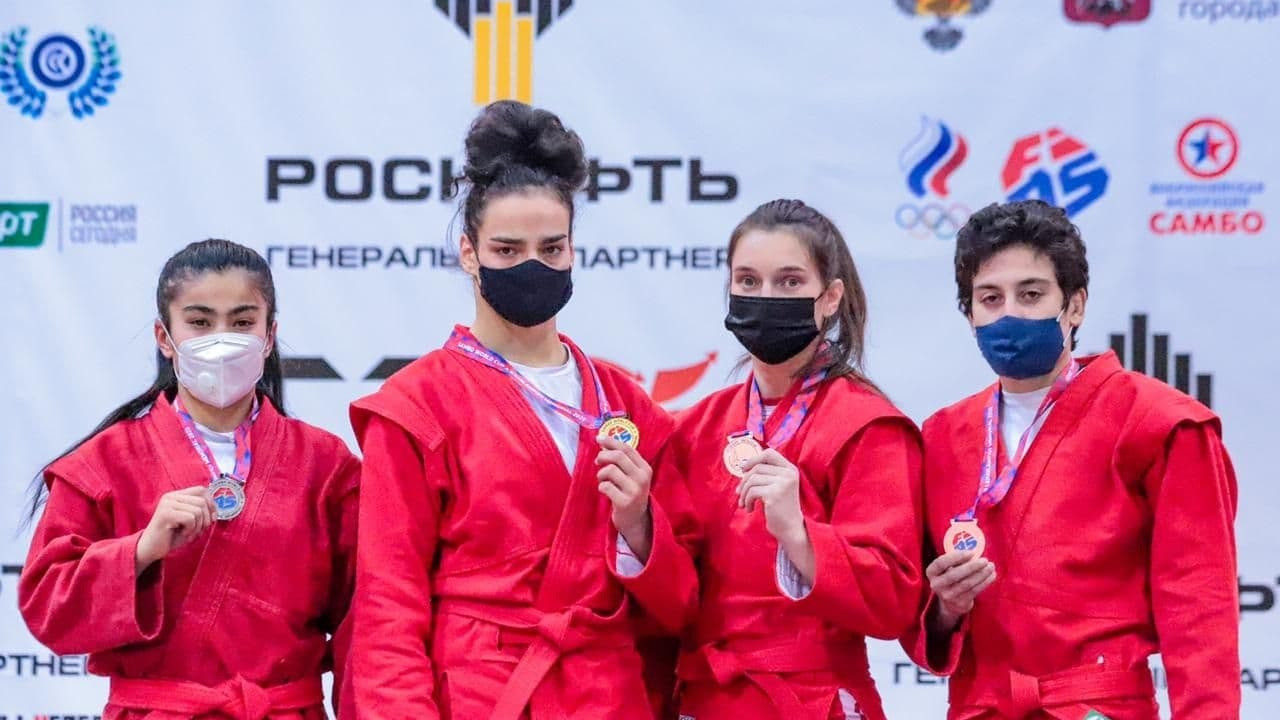 Самбистка из Подмосковья завоевала Кубок мира по самбо