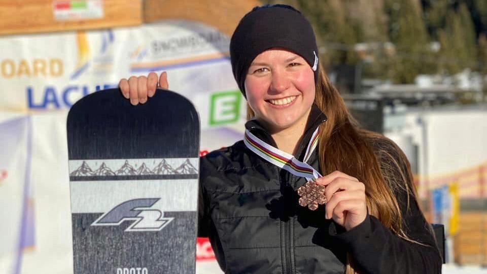 Сноубордистка из Подмосковья завоевала бронзовую медаль первенства мира