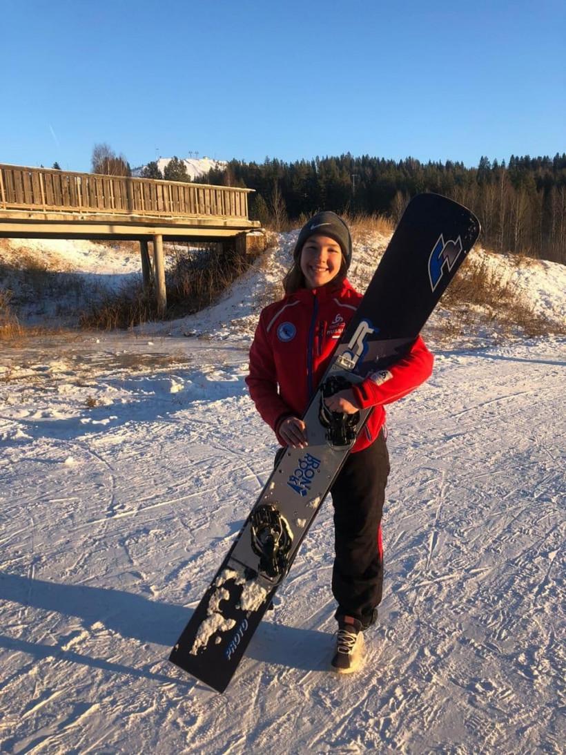 Сноубордистка из Подмосковья завоевала серебро Кубка России