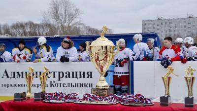 Соревнования по хоккею начались в Котельниках