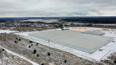 Современный тепличный комплекс ввели в эксплуатацию в Серпухове