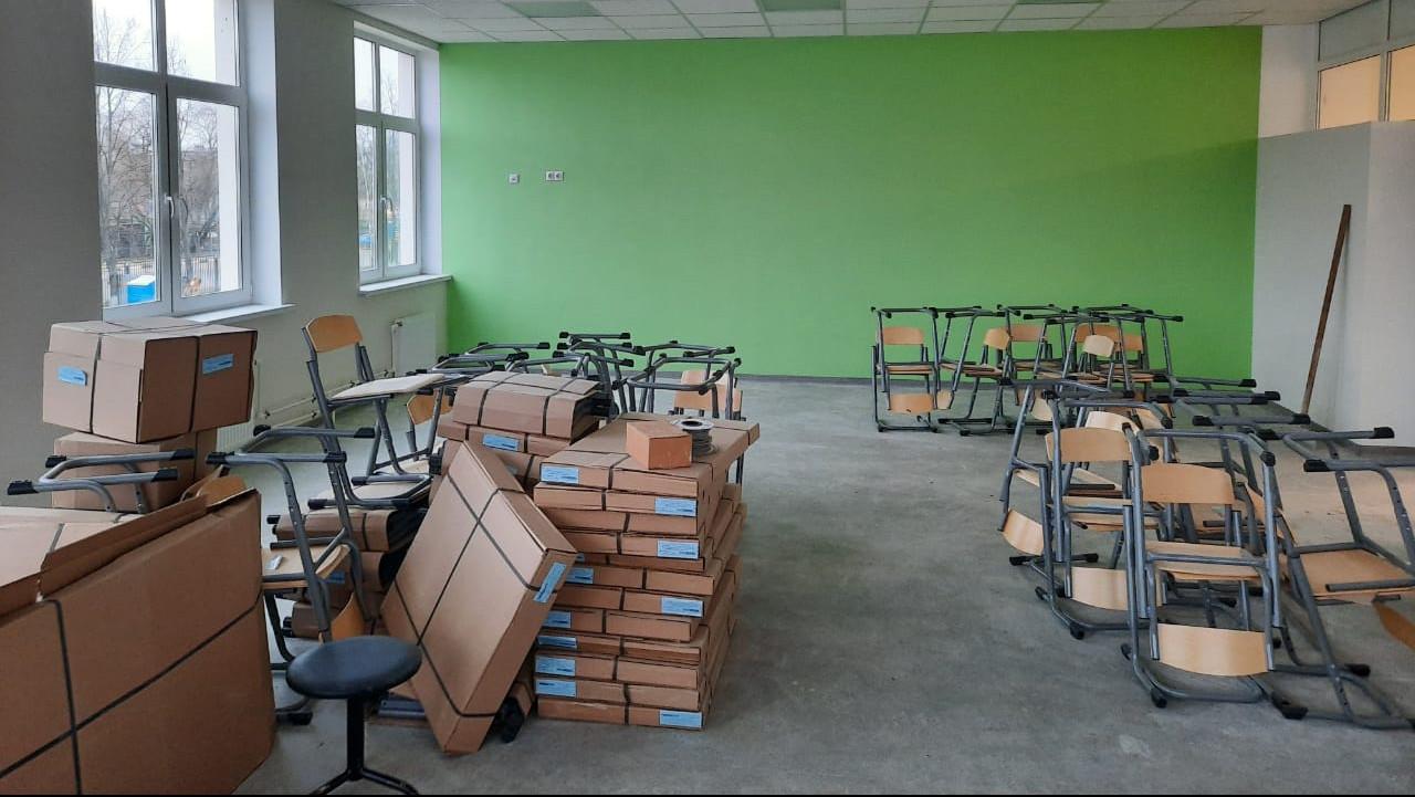 Строительство блока начальной школы на 200 мест в Серпухове завершат до конца декабря