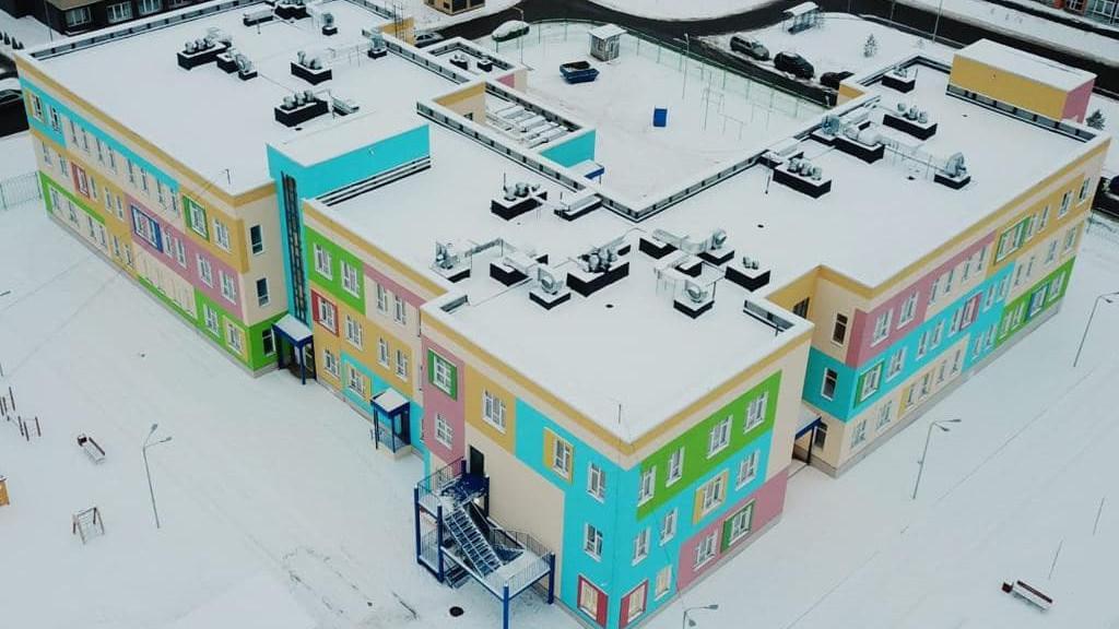 Строительство детского сада на 320 мест завершилось в Красногорске