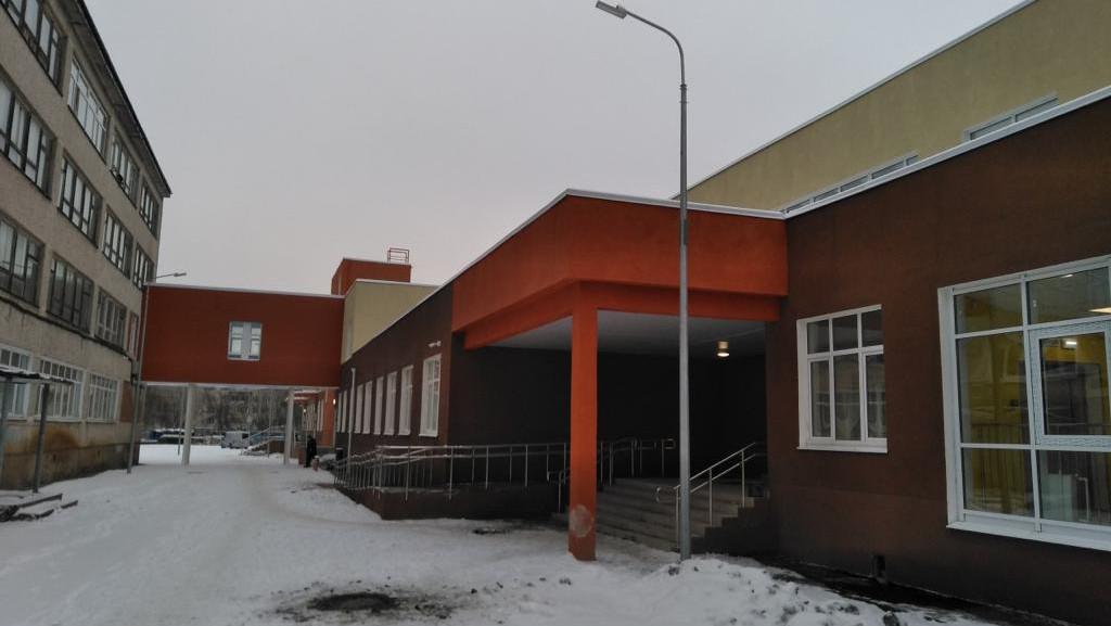 Строительство пристройки к школе №7 завершилось в Серпухове