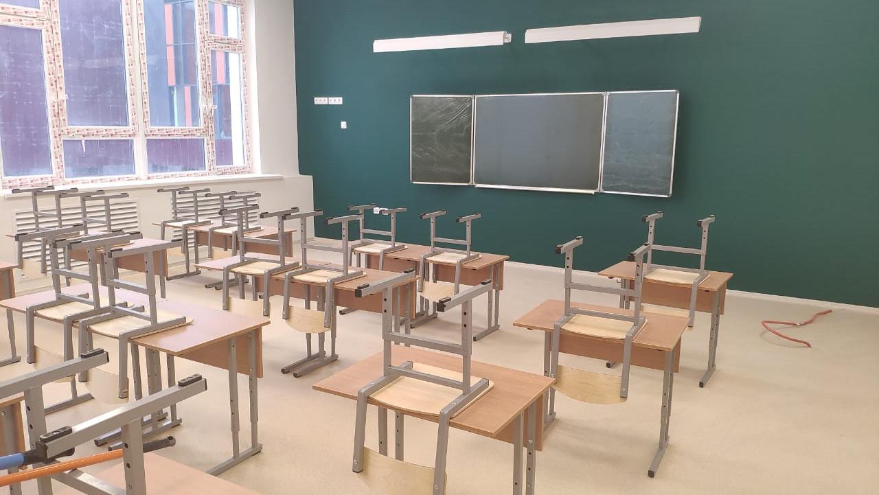 Строительство школы на 550 мест завершается в Волоколамске