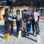 Виктория Пухова завоевала вторую бронзу первенства мира по сноуборду